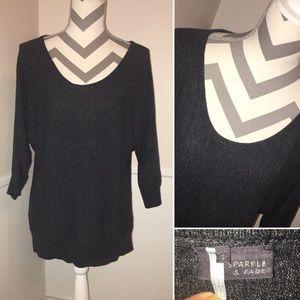 SPARKLE & FADE   UO   scoop neck sweater